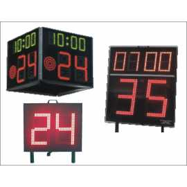 Tabelloni elettronici visualizzatori dei 24 secondi