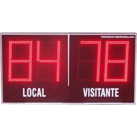 Outdoor scoreboards 4-digit scoring
