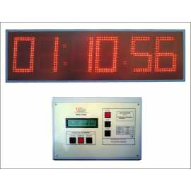 Sports electronic timers with 6 digits