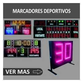 Marcadores electrónicos deportivos