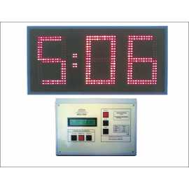 Sports electronic timers with 3 digits