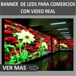 Banner de Leds Full color