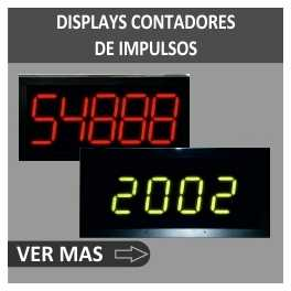 Display a LED di controllo a impulsi